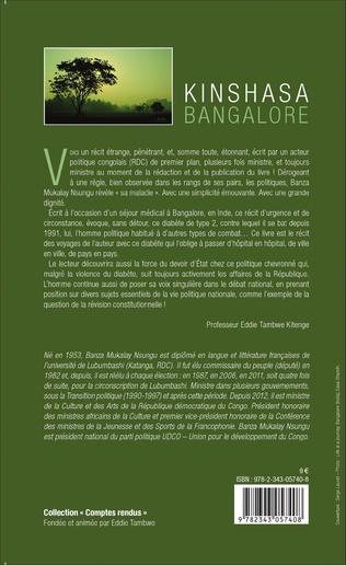 4eme Kinshasa Bangalore