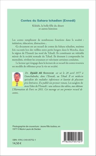 4eme Contes du Sahara tchadien (Ennedi)