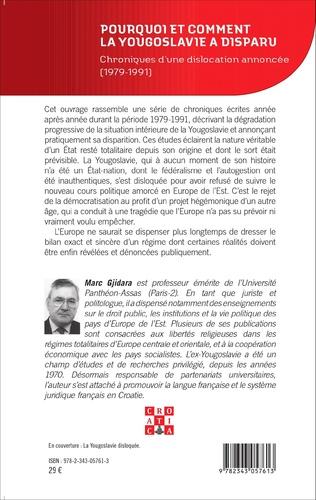 4eme Pourquoi et comment la Yougoslavie a disparu ?