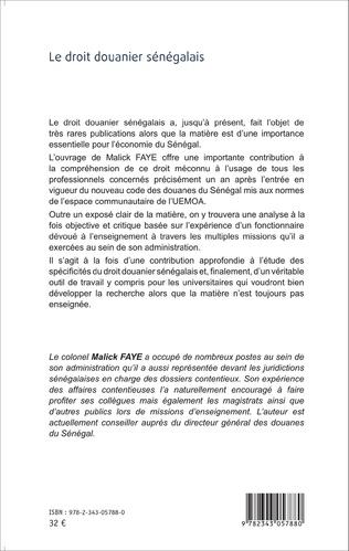4eme Le droit douanier sénégalais
