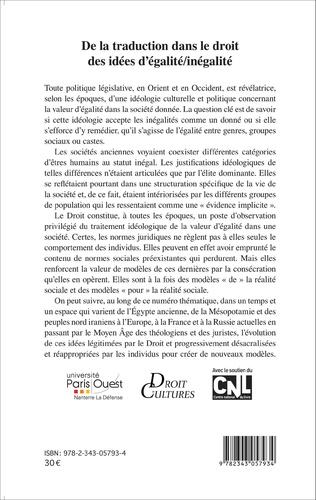 4eme De la traduction dans le droit des idées d'égalité/inégalité