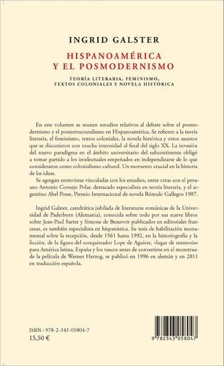 4eme Hispanoamérica y el posmodernismo