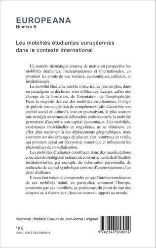 4eme Les mobilités étudiantes européennes dans le contexte international