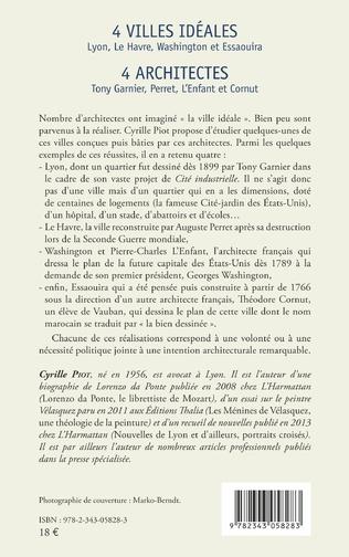 4eme 4 villes idéales Lyon, Le Havre, Washington et Essaouira