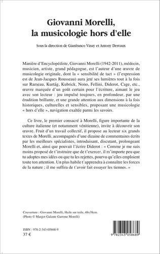 4eme Giovanni Morelli, la musicologie hors d'elle