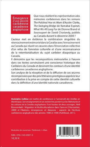 4eme Émergence d'une identité caribéenne canadienne anglophone