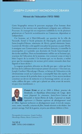 4eme Joseph Cunibert Nkondongo Obama