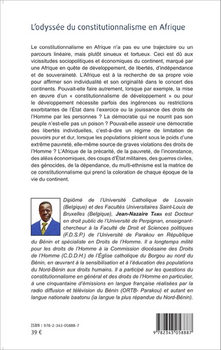 4eme L'odyssée du constitutionnalisme en Afrique