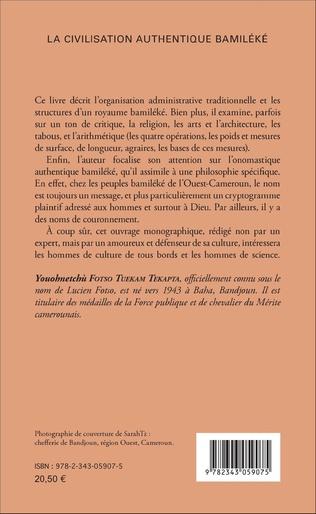 4eme La civilisation authentique Bamiléké