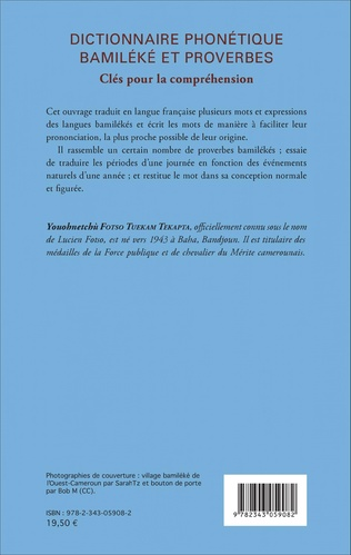 4eme Dictionnaire phonétique Bamiléké et proverbes