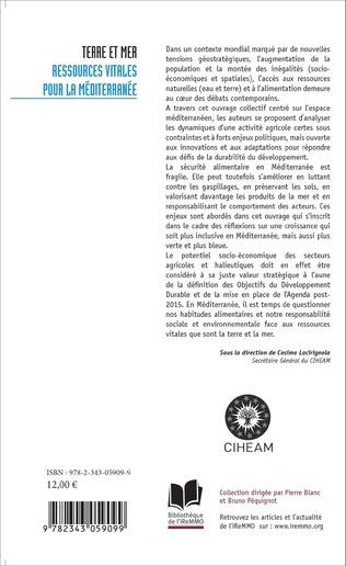 4eme Terre et mer : ressources vitales pour la Méditerranée