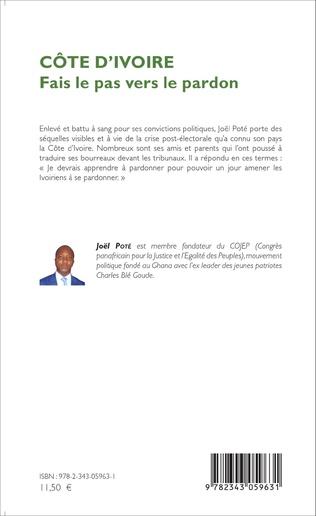 4eme Côte d'Ivoire Fais le pas vers le pardon