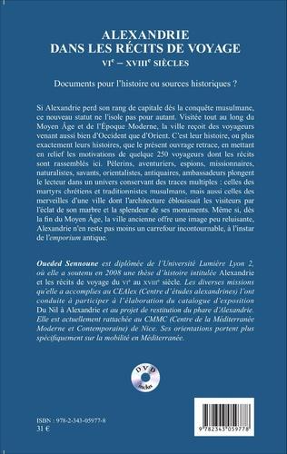 4eme Alexandrie dans les récits de voyage
