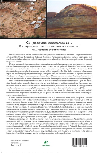 4eme Conjonctures congolaises 2014