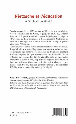 4eme Nietzsche et l'éducation