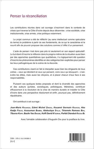 4eme Penser la réconciliation pour panser la Côte d'Ivoire