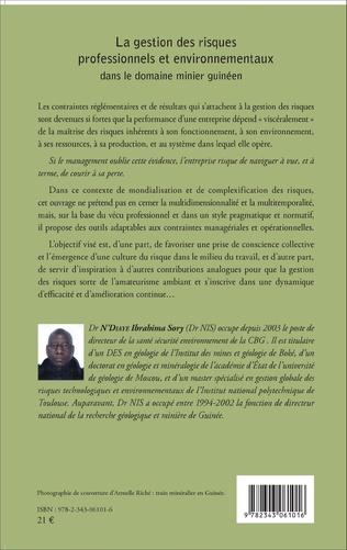4eme La gestion des risques professionnels et environnementaux