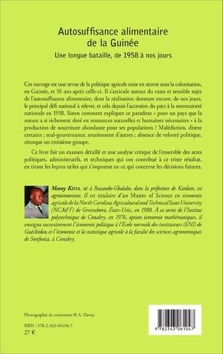 4eme Autosuffisance alimentaire de la Guinée