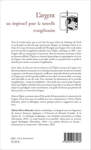 4eme L'argent un impératif pour la nouvelle évangélisation