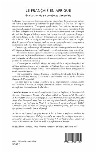 4eme Le Français en Afrique