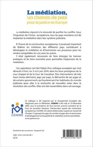 4eme La médiation, un chemin de paix pour la justice en Europe