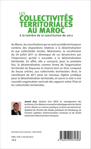4eme Les collectivités territoriales au Maroc