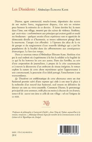 4eme Les Dissidents. Roman
