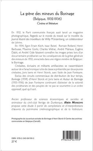 4eme La grève des mineurs du Borinage