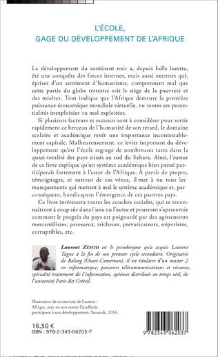 4eme L'école, gage du développement de l'Afrique