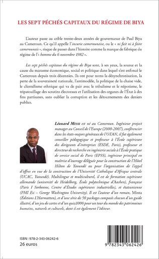 4eme Sept péchés capitaux du régime Biya