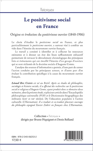 4eme Le positivisme social en France