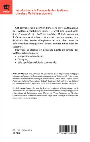 4eme Introduction à la Commande des Systèmes Linéaires Multidimensionnels