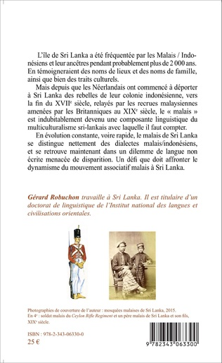 4eme Parlons Malais de Sri Lanka