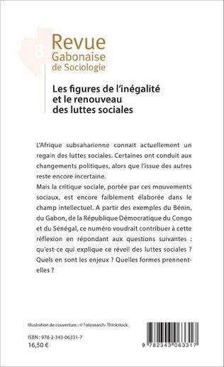 4eme Les figures de l'inégalité et le renouveau des luttes sociales
