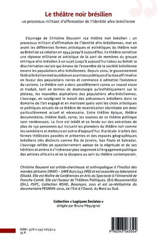 4eme Le théâtre noir brésilien