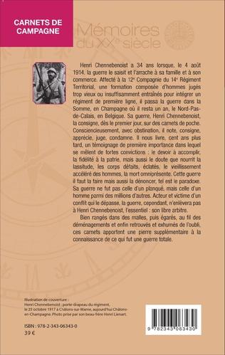 4eme Carnets de campagne (1914-1918)