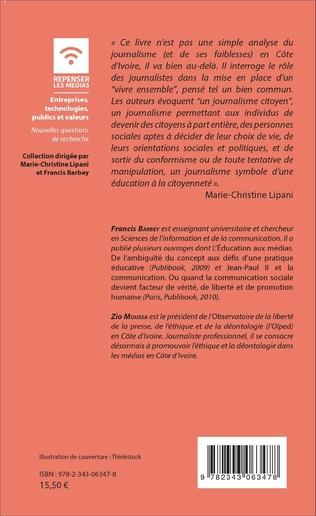 4eme Du journalisme en Côte d'Ivoire