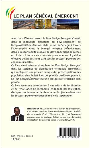 4eme Le Plan Sénégal Émergent