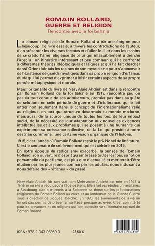 4eme Romain Rolland, guerre et religion