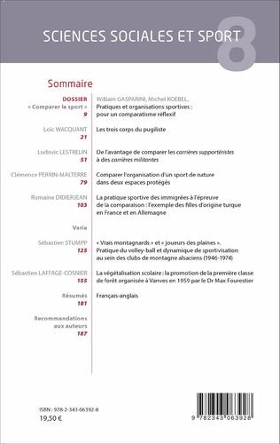 4eme Sciences Sociales et Sport  n° 8