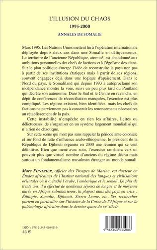 4eme L'illusion du chaos 1995-2000