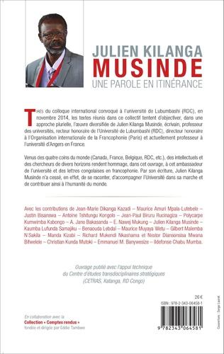4eme Julien Kilanga Musinde