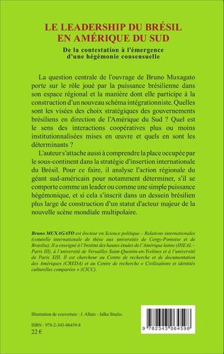 4eme Le leadership du Brésil en Amérique du Sud