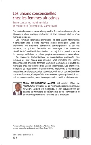 4eme Les unions consensuelles chez les femmes africaines