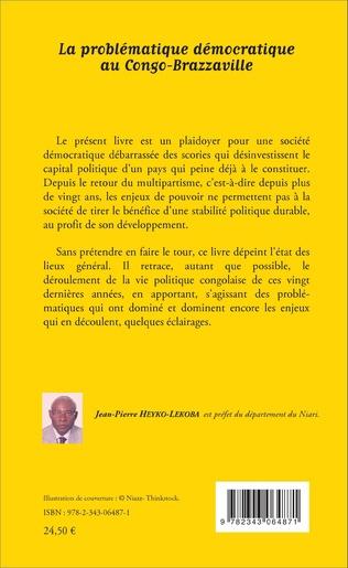 4eme La problématique démocratique au Congo-Brazzaville