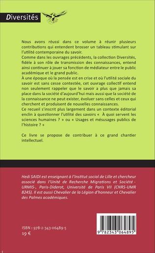 4eme Savoirs critiques et recherches historiques
