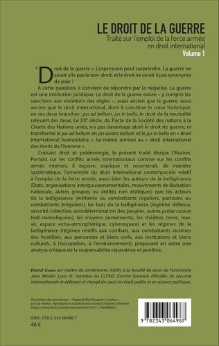 4eme Le droit de la guerre (Volume 1)