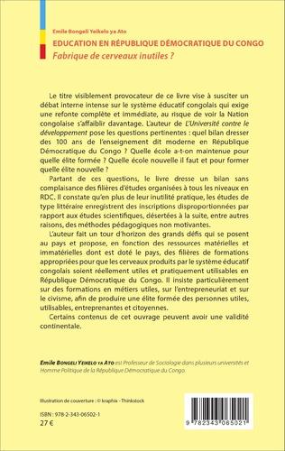 4eme Éducation en République Démocratique du Congo