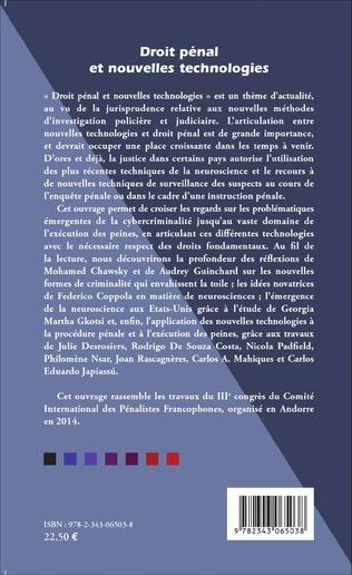 4eme Droit pénal et nouvelles technologies