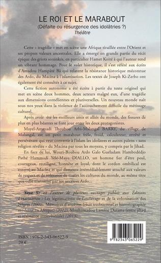 4eme Le Roi et le marabout (Défaite ou résurgence des idolâtries ?)